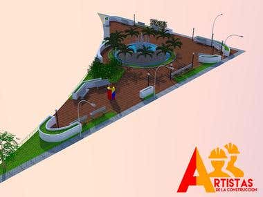 Plaza la fuente Anaco