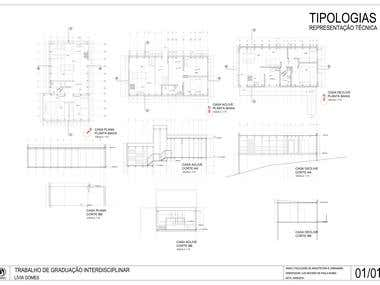 House Typologies for habitation complex