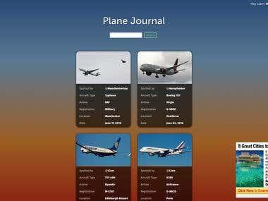 Plane Journal