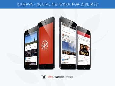 Dumpya is a fun social app with exciting features.