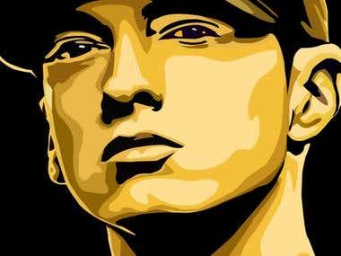 Eminem Illustration