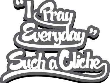 I Pray Illustration