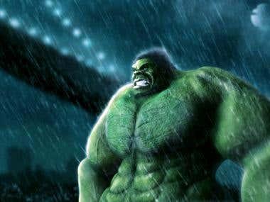 Hulk 3d Test