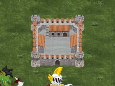 Video Game Terrain Art