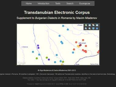 The Transdanubian Electronic Corpus