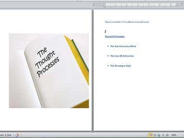 "eBook on the ""The Thought Processes"""