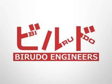 Birudo Engineers Logo Design