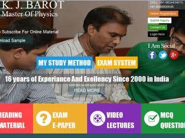 EDUCATIONAL PLATFORM DESIGN AND DEVELOPMENT WITH RESPONSE