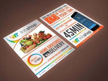 Flyer Design, double-side!