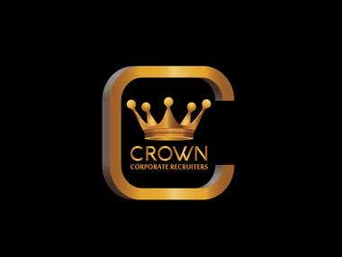 Logo designed for a Recruiting firm - Crown