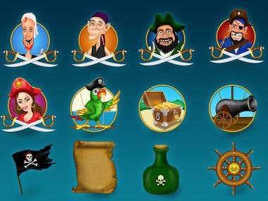Pirate Slot Asset