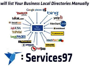 Local Business  Directories Submission manually