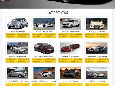 Car Rental Application