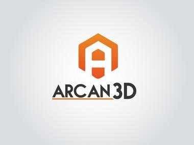 Arcan 3D - Logo