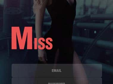 Miss. A shopping app template