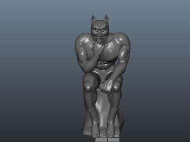 Model for 3d printing