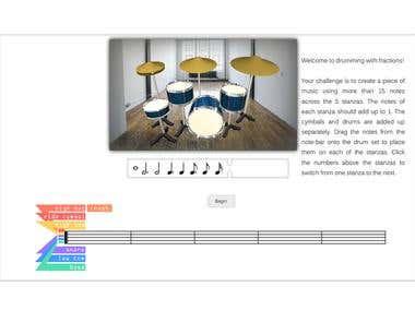 Drum simulation app