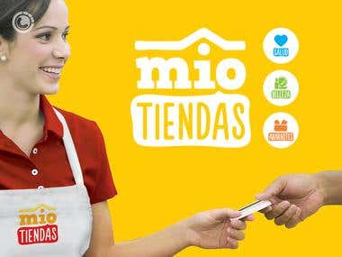 Banner design for Mio Tiendas (mini market)