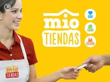 Banner design for Mio Tiendas (mini market)