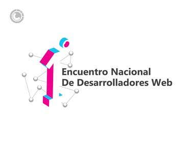 Logo for web development event (conference)