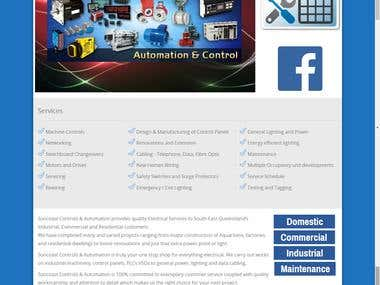 Suncoast Controls System - Australia - Web Application