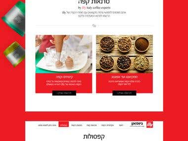 illy coffee machines website