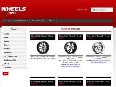 Prestashop website modification and development