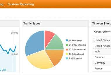 Google Analytic Reporting
