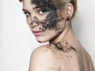 Hi-end beauty retouch