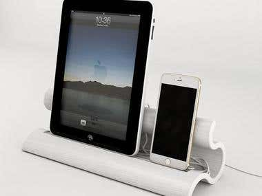 Phone and Tablet Dock Design