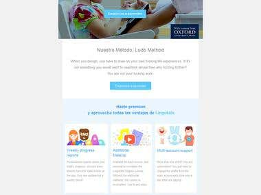 Fully Responsive HTML email template