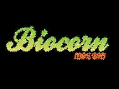 BIOcorn Logo design
