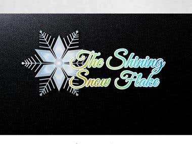 The shining snow flake