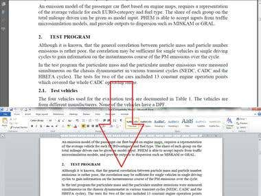 PDF to MS Word Conversion | Image file conversion to MS Word