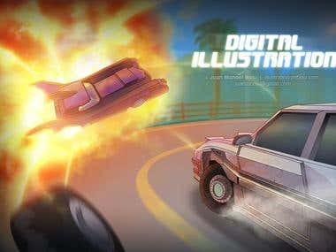 Illustration for MotorStrike game
