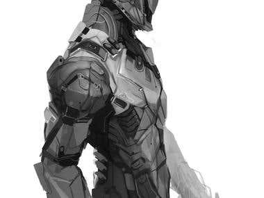 Robotic Character Concept