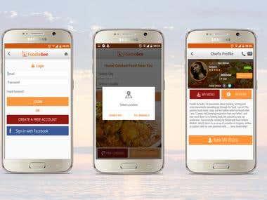 Foodlebee (Food Ordering Mobile App)