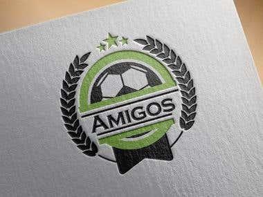 Amigos logo design