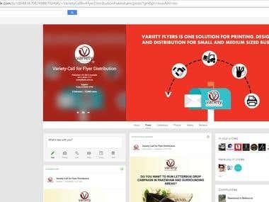 Social Media Marketing - Facebook, Google+ and Instagram