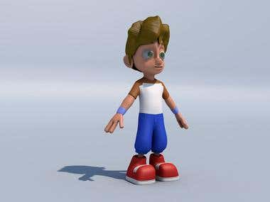 Cartoon Character Modeling