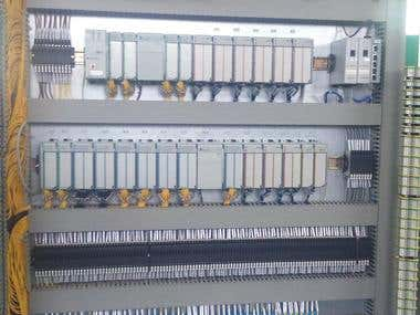 Automation Panel for gas Cooling Application