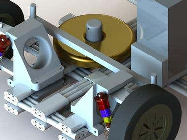Design and Developed Working Vehicle Protype