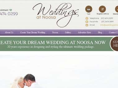 Build a Weddings Website