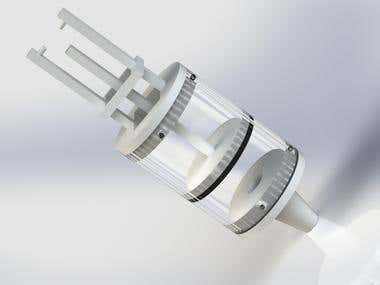 Proposed idea for ROV sediment sampler