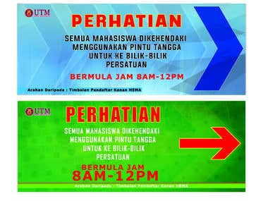 Signage (Universiti Teknologi Malaysia)