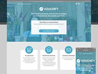 Vouchify - Find local businesses and service providers