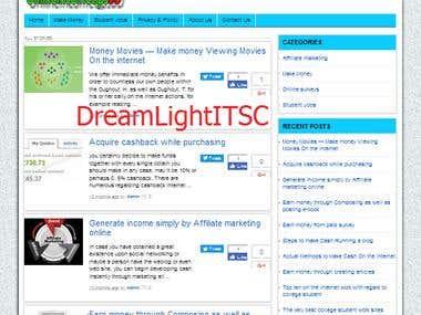 (Blogger) Web Design/Development