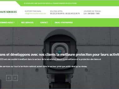 Pagina para Kleib Multiservices