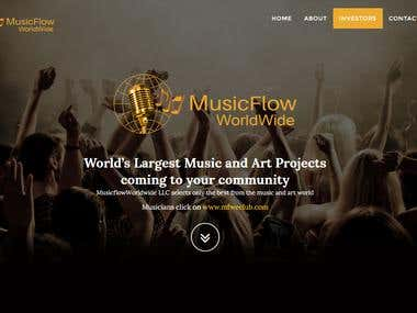 Musicflow Worldwide | CMS Development | MusicflowWorldwide L