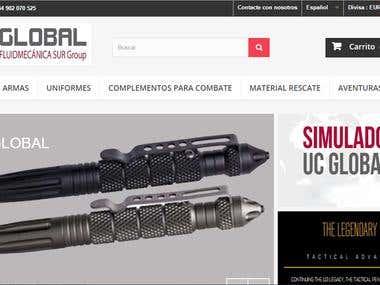 Tienda Online para UC-Global